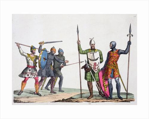Anglo-Saxon warriors by Anonymous