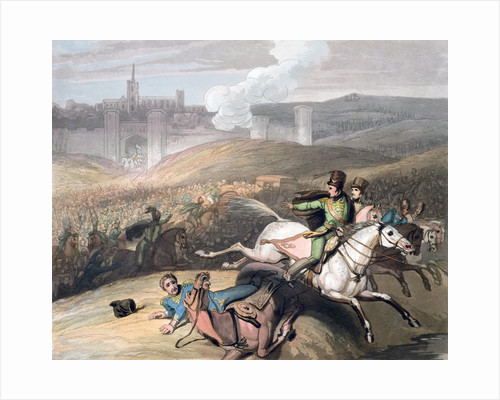 Battle of Vitoria by T Fielding