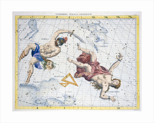Constellations of Perseus and Andromeda by Anonymous