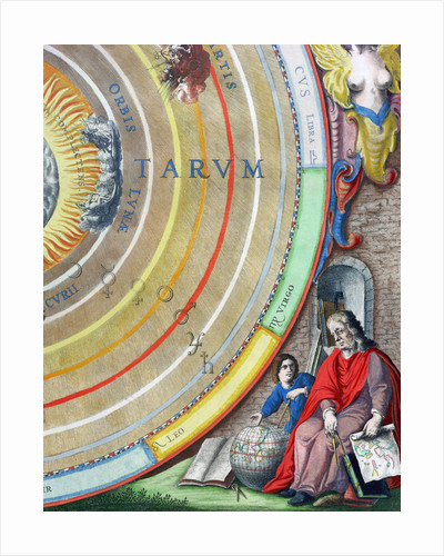 An astronomer by Andreas Cellarius