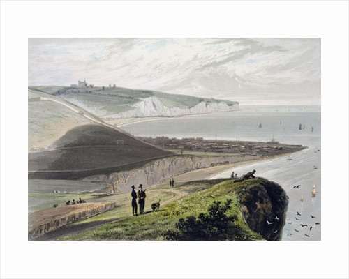 Dover, from Shakespeare's Cliff by William Daniell