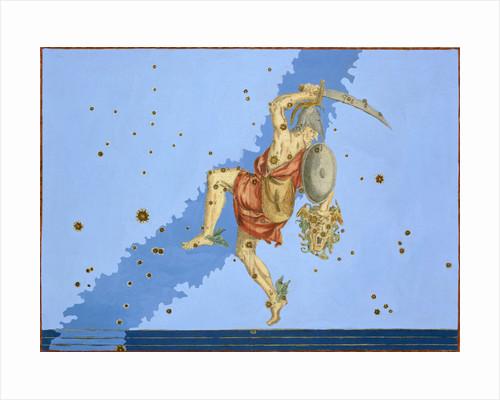 Constellation of Perseus by Alexander Mair