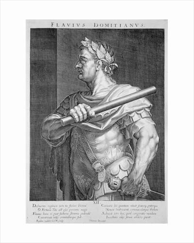 Flavius Domitian by Aegidius Sadeler II
