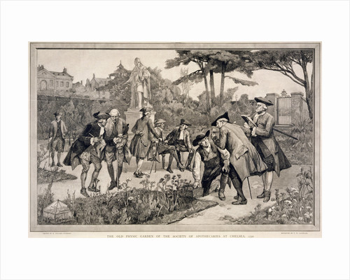 The Old Physic Garden of the Society of Apothecaries at Chelsea by Thomas W Lascelles