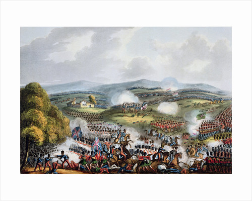 Battle of Quatre Bras by Thomas Sutherland