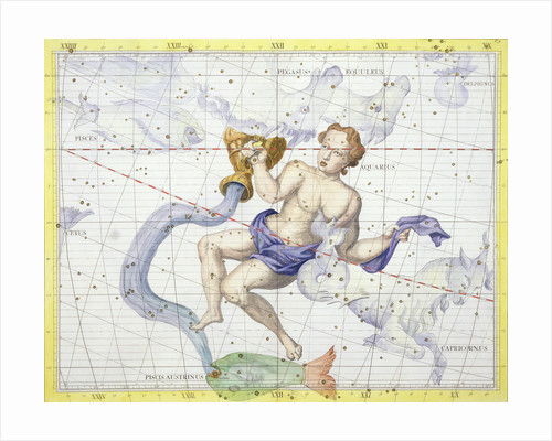 Constellation of Aquarius by Anonymous