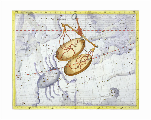 Constellation of Libra by Anonymous