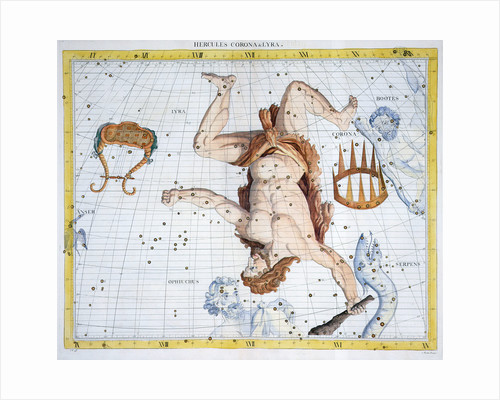 Constellations of Hercules by Anonymous