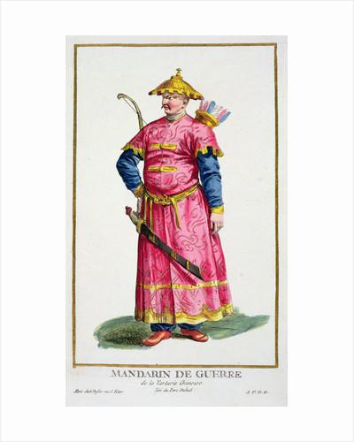 A Mandarin warlord by Pierre Duflos
