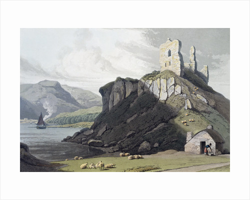 Aros Castle by William Daniell