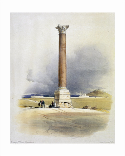 Pompey's Pillar by David Roberts