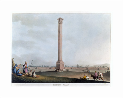 Pompey's Pillar by Thomas Milton