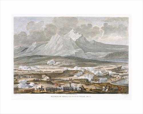 The Battle of Rivoli by Jean Duplessis-Bertaux