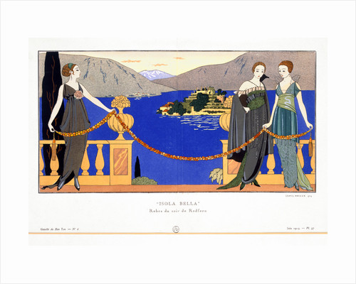 Isola Bella by Georges Barbier