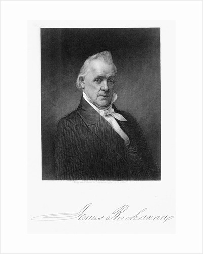 James Buchanan by Henry Bryan Hall I