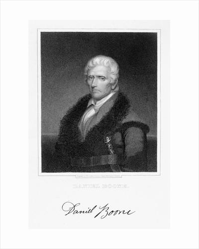 Daniel Boone by James Barton Longacre