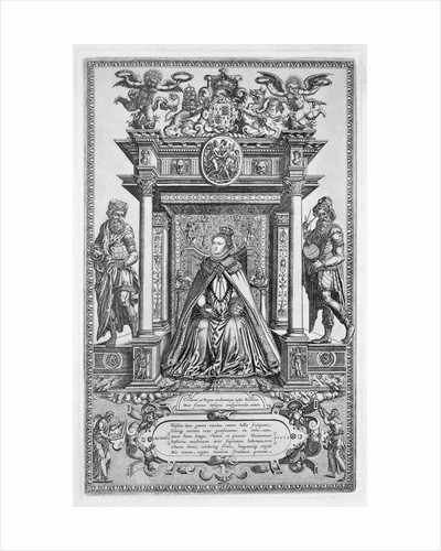 Queen Elizabeth I of England as Patron of Geography and Astronomy by Anonymous