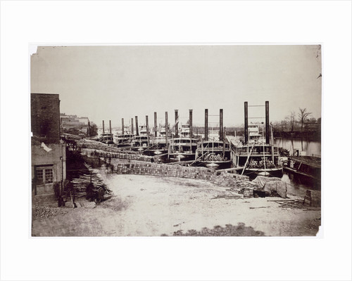 Steamers on the Mississippi by Anonymous