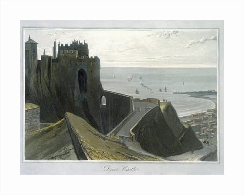 Dover Castle by William Daniell