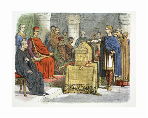 Harold II swears fidelity to Duke William of Normandy by James William Edmund Doyle