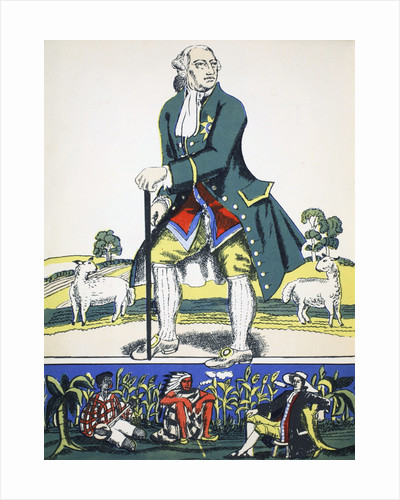 George III by Rosalind Thornycroft