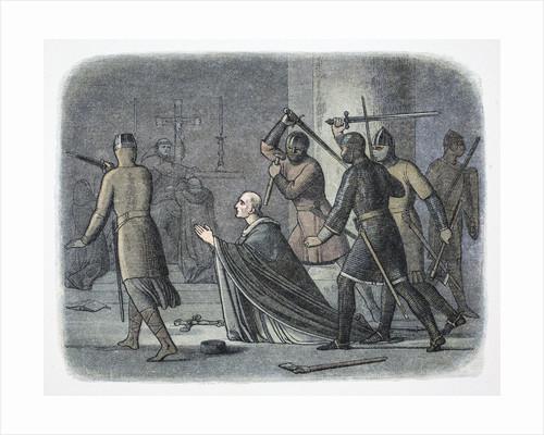 Murder of Thomas Becket by James William Edmund Doyle