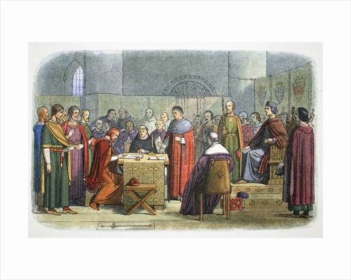 Edward I of England acknowledged as suzerain of Scotland by James William Edmund Doyle