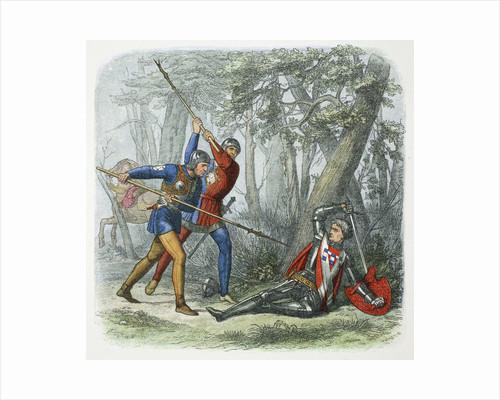 Death of Warwick the Kingmaker, Battle of Barnet by James William Edmund Doyle