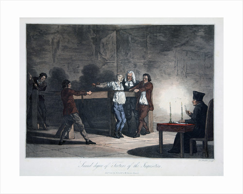 Second Degree of Torture of the Inquisition by LC Stadler