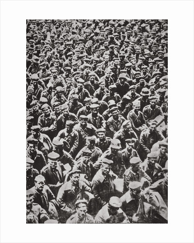 Thousands of German prisoners captured by the Allied advance by Anonymous