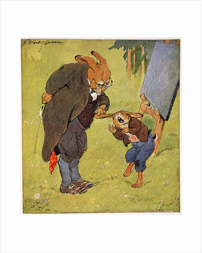 Naughty schoolboy by Fritz Kock-Gotha