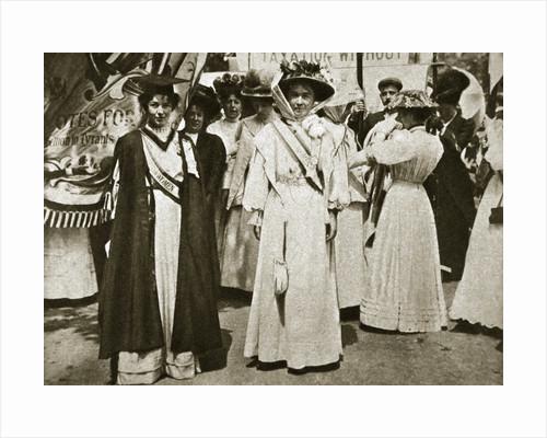 Emmeline Pethick-Lawrence and Emmeline Pankhurst by Central News