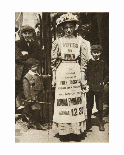 The suffragette housemaid by Central News