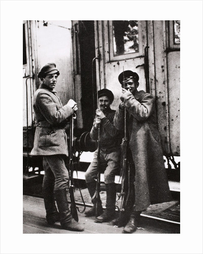 Young Red Guards by Anonymous