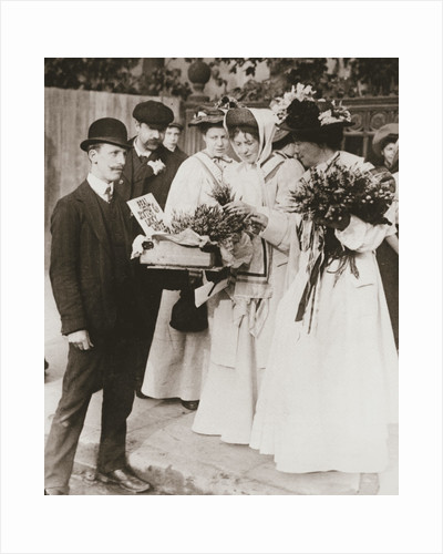 Christabel Pankhurst and Emmeline Pethick-Lawrence by Anonymous