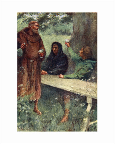 Robin Hood and the Black Monk by William Sewell