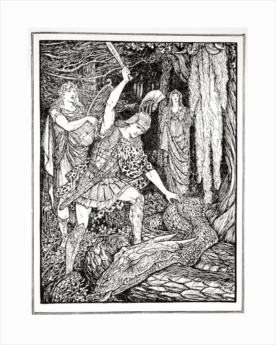 How the Serpent that guarded the Gold Fleece was slain by Henry Justice Ford