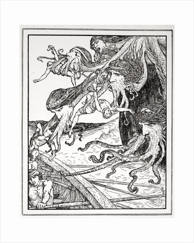 The Adventure with Scylla by Henry Justice Ford