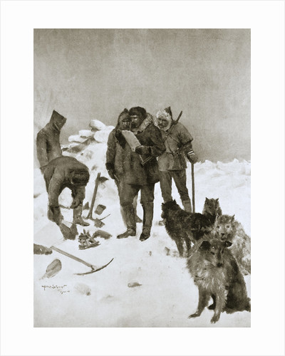 Captain McClintock's search for missing Arctic explorer Sir John Franklin by Anonymous