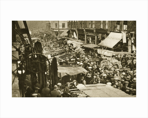 Petticoat Lane Market on Middlesex Street by Anonymous