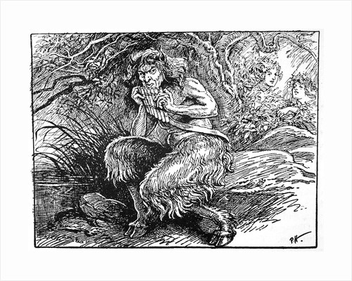 Pan, from 'The Book of Myths' by Amy Cruse by Anonymous