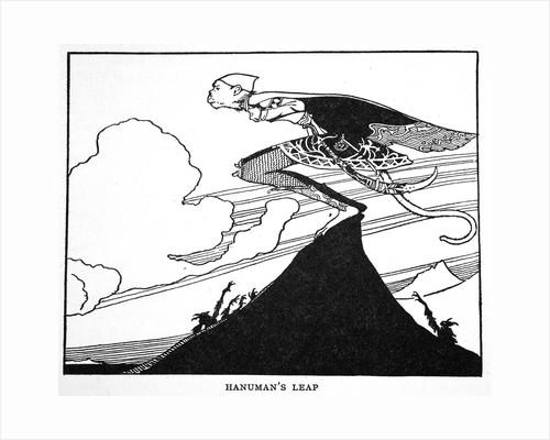 Hanuman's Leap by Anonymous