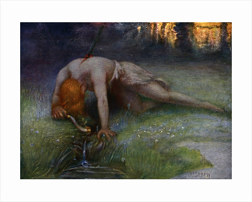The Death of Siegfried by Anonymous