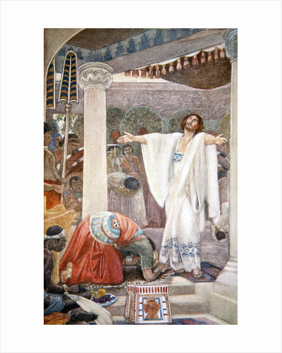 Daniel interprets the dream of Nebuchadnezzar by Evelyn Paul