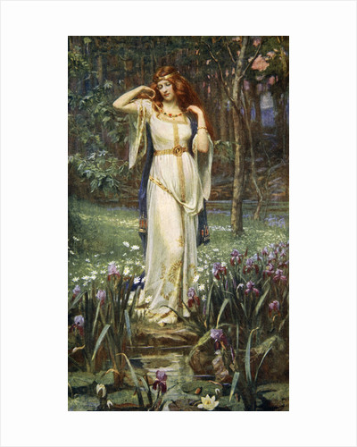 Freyja and the Necklace by James Doyle Penrose