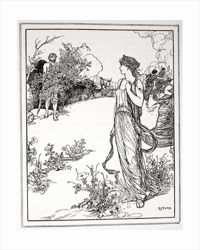 How Ulysses met Nausicaa by Henry Justice Ford