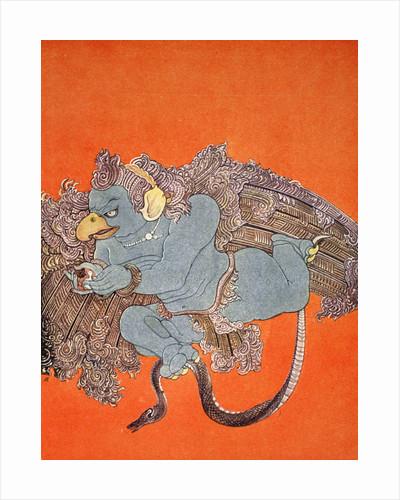 Garuda by Nandalal Bose