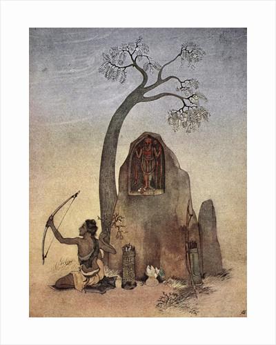 Ekalavya by Nandalal Bose
