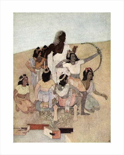 The Trial of the Princes by Nandalal Bose