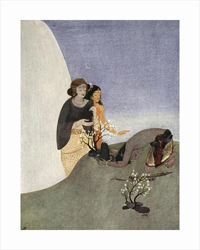 Kirat-Arjuna by Nandalal Bose